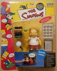MARTIN PRINCE The Simpsons Intelli-Tronic Figure World Of Springfield Playmates