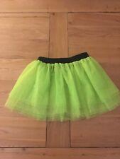 Girls Florescent Tutu Skirt. (waist 10.5 Inches)