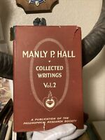 Manly P. Hall Collected Writings Vol. 2 Sages And Seers First Edition 1959