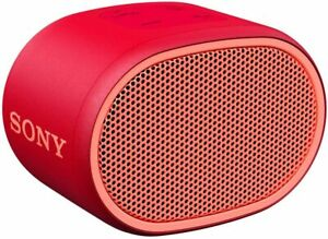 Sony SRS-XB01 Compact Portable Bluetooth Speaker Loud Portable Party Speaker RED