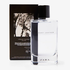 ZARA VIBRANT LEATHER ORIGINAL EAU DE PARFUM MAN FRAGRANCE EDP 120 ML 4.06 FL OZ