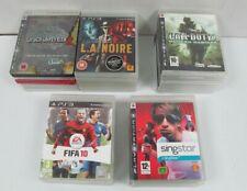 PS3 Games x 29 Mixed PlayStation 3 Games Bundle Job Lot
