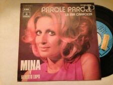 "MINA Y ALBERTO LUPO SPANISH PROM0 7"" SINGLE SPAIN PAROLE"