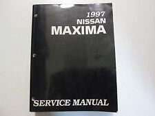 1997 Nissan Maxima Service Repair Shop Workshop Manual Factory OEM USED Book 97