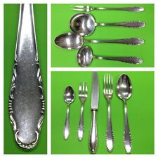 Cutlery G. R. 90er Silver 57 Pieces 12 People