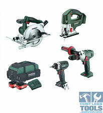 Metabo 18V 5 Piece Carpenters Kit - C41