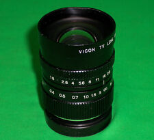 VICON TV LENS 12.5MM F1.8 FOR C-MOUNT TV CAMERA