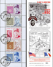 """Private Booklet """"General EISENHOWER & DE GAULLE - 67 years D-DAY / WWII"""" 2011"""