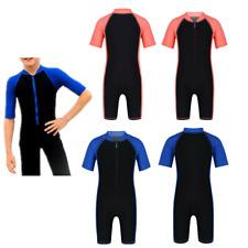 Bambini Ragazzi/Ragazza Muta Shorty Costumi Da Bagno Costume Da Bagno Surf Muta Rash Guard