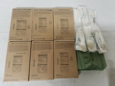 Sopakco MRE Red. Sodium Entrees Utensils Ready to Eat Emergency Survival 6 Meals