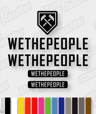 WE THE PEOPLE Die-cut Decal Sticker sheet (cycling, mtb, bmx, bike, frame) - V1