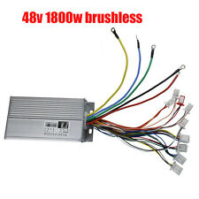 48V 1800W Brushless Controller Unit for Electric ATV Go Kart Scooter E-Bike