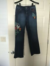 Women's Harley Davidson embroidered jeans