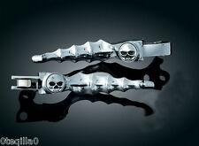 poignee manette Sportster Harley Davidson   lever skull kuryakyn 1047