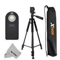 "Pro 60"" Tripod with Wireless Remote for Canon Sl1, EOS M, 5D, 6D 7D Cameras"
