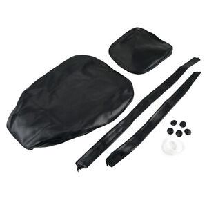 Replacement Seat Cover w/ Passenger Strap for Honda Rebel 250 C CMX250C Series