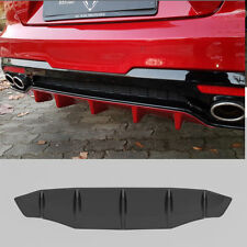 USA New M&S Matte Black Rear Bumper Body Diffuser Guard   for Kia Stinger 17-18