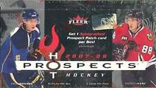 2007-08 (2008) Fleer Hot Prospects Hockey Factory Sealed Hobby Box