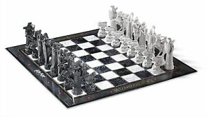 Harry Potter Wizards Chess Set Philosophers Stone - The Noble Collection
