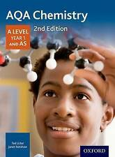 AQA Chemistry A Level Year 1 Student Book by Ted Lister, Janet Renshaw 978019835