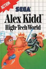 # Sega Master System-Alex Kidd: High-Tech World #