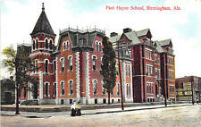 Birmingham AL Paul Hayne School Street View Postcard