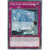 IGAS-EN075 Time Thief Retrograde 1st Edition Common YuGiOh Trading Card Game TCG