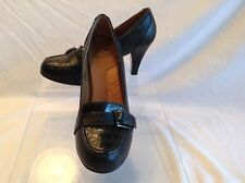 I Luv Comfort ladies black leather pumps in size 6 medium