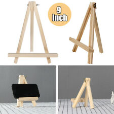 9'' Artist Wooden Table Top Easel Picture Stand Exhibition Display Tripod Holder