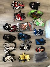 troy lee and Alpinestars Gloves