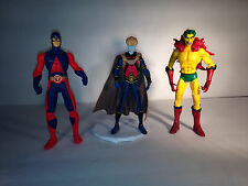 Lot 122 - DC Universe, Direct Figures Creeper, The Atom Ryan Choi, Brother Blood