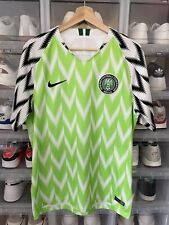 Nike Nigeria 2018 Home Soccer Jersey Medium M