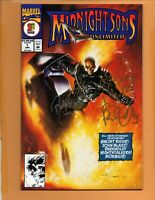Midnight Sons Unlimited #1 NM signed Quesada + Parker + a Palmiotti sketch !!