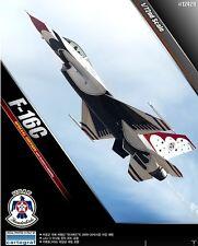 Academy 1/72 Military Plastic Model Kit F-16C Thunderbirds 2009/2010 12429 NIB