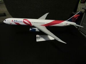 Flight Miniatures 1:200 Delta 767-400 N845MH Breast Cancer Research NO BOX