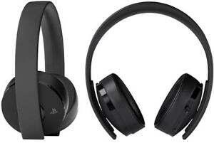 Genuine Sony Playstation 4 Gold Wireless Headset Only