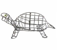 More details for topiary frame tortoise turtle unique garden design feature gift