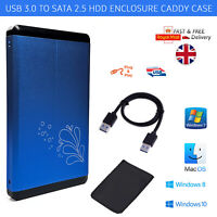 "USB3.0 2.5"" External SATA HDD SSD Hard Disk Drive Enclosure Case Caddy USB 3.0"