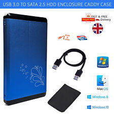 "USB3.0 2.5"" External SATA HDD SSD Hard Disk Drive Enclosure Case Caddy USB 3.0"