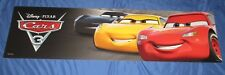 CARS 3 Toys R Us Exclusive Display/Sign (Approx 4' x 1')  Movie / Disney