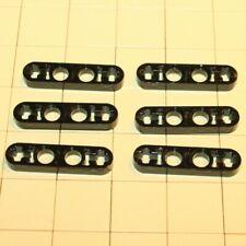 Lego®  Technic 6 Flachverbinder Half Beam 4er Schwarz 4142236  32449
