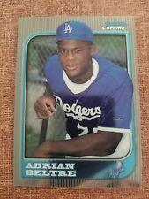 1997 Bowman Chrome Adrian Beltre Los Angeles Dodgers #182 Baseball Card