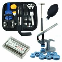 Watch Repair Tool Kit - Case Opener & Link Remover & Spring Bars & Case Press HL