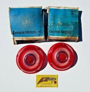 1966-69 Chevrolet Corvair 500 Corsa Monza Ynko NOS Tail Light Lens Pair