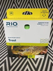 RIO MAINSTREAM TROUT NEW DT-5-F #5 WEIGHT DOUBLE TAPER FLOATING FLY FISHING LINE