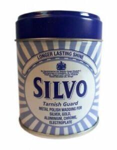Silvo Tarnish Guard Duraglit Wadding Metal Polish for Silver Gold Chrome 75g