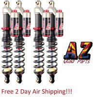 Elka Stage 3 Legacy Front & Rear Shocks Suspension Kit Fits Yamaha Grizzly 700