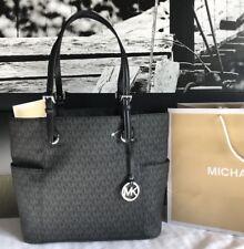 Michael Kors Purse Handbag Monogram Designer Jet Set MK Bag