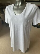New With Tags Superdry Grey Essential T-shirt Size L UK 14