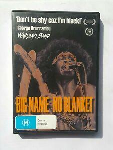 Big Name No Blanket (2013) DVD PAL George Rrurrambu & the Warumpi Band Story